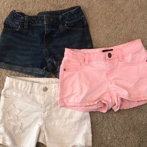 Lot of girl's shorts